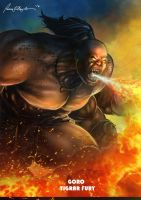 Mortal Kombat X-Goro- Tigrar Fury Variation by Grapiqkad