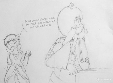 Scolding by Sofiathefirst