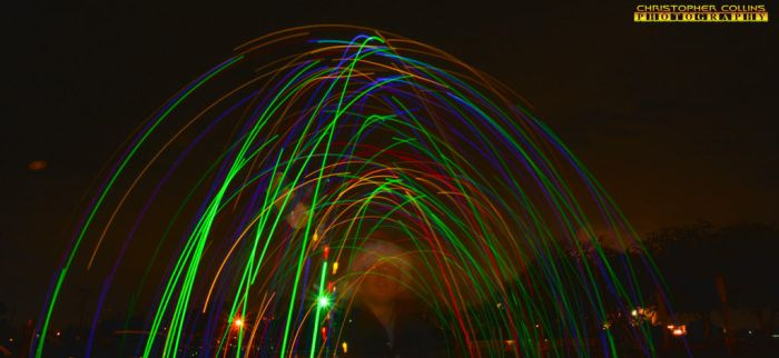 Selfie light painting New Years Eve 2016 2 by ENT2PRI9SE