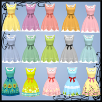 Spring Dress DOWNLOAD by Reseliee
