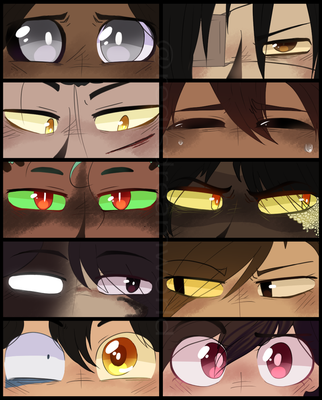 EYES MEME by RegiREGE