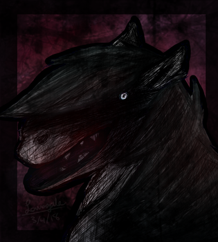 Creepy horse by LavaGaleProduction