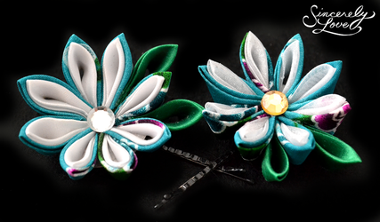 Water Nymph Kanzashi by SincerelyLove