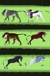 Mythological adoptables by Whitelupine