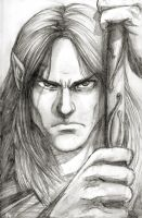 Legolas pencil by black3