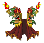 Tiki Knight Totem Cape by teamlpsandacnl