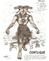 Coatlique by artstain