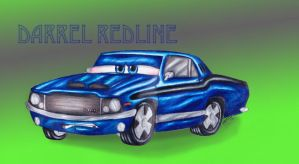 Darrel Redline by Asphalt-Cowgirl
