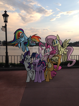 Ponies in Florida by CinnamonSand
