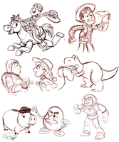 Toy Story Stuff by sharkie19