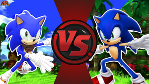 CFC|Boom Sonic vs. 06 Sonic by Vex2001