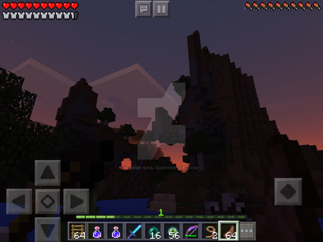 Me playing Minecraft by MEME-SOUL-13
