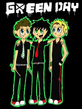 Green Day 8D by Blazing-Star15