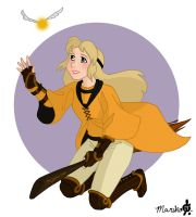 Eilonwy The Hufflepuff Seeker by mistressmariko