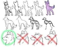 How-To-Draw Wolves Part 1 by DogWolf129