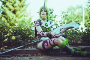 League of Legends - Dryad Soraka by TineMarieRiis