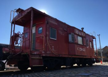iPhone B+O i17a Caboose C-2943 by rlkitterman