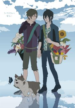 Flower Exchange by chiitan