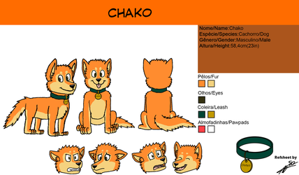 Commission Refsheet Chako by AcirGomes