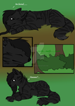 Comic Page 1 the beginning by SolarXolverite