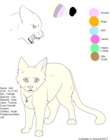 Ref: Ash the Cat by Nasvelliels