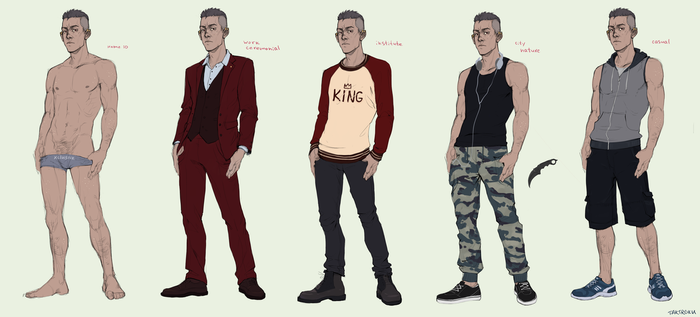 concept of clothing by Takiroku
