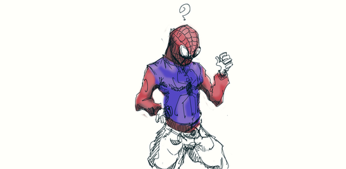 spiderman by kent-of-artload