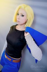 Android 18 by Witchiko