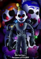 We'll Get Out Of Here Together! by FNaF2FAN