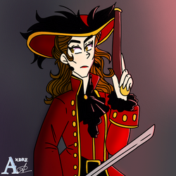 Lady Barbossa  by andrea0325