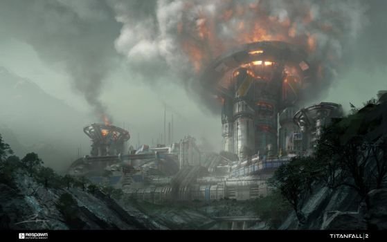 Reclamation Refinery by 2buiArt