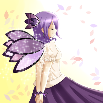 The Moonshade Butterfly by chaokiller