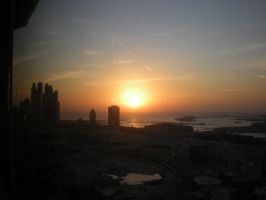 Sunsetdubai by MichaFire