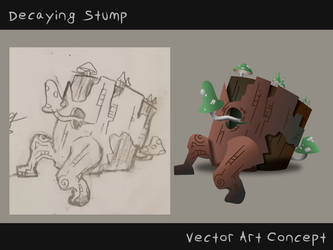 Decaying Stump Concept by Energyzed