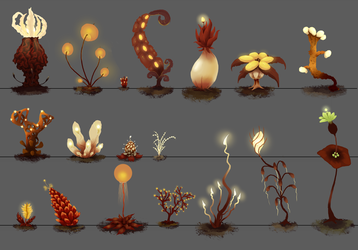 Tal-Oras Flora Concepts by TheVerdantHare
