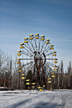 Pripyat's Wheel by michpix