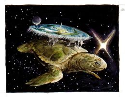 The Great A'Tuin by FrancesLane