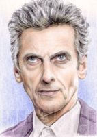 Dr Who sketchcard by whu-wei