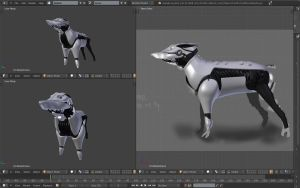 Scout dog wip 3 by betasector