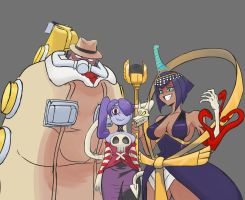 Skullgirls Mains by Chef033