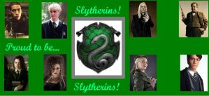 Proud to be Slytherin by Bronniii