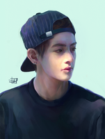 taehyung. by mort-d