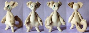 Project Bob - the Bagbean Plush Prototype by ShiroTheWhiteWolf