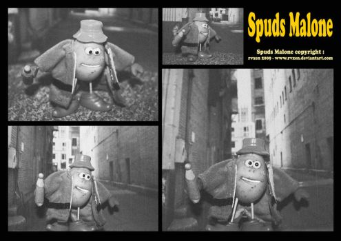 Spuds Malone by mikedaws