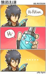 FFXV - Hi-Potion by Ry-Spirit