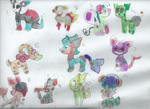11 Adoptables FREE CLOSED by Blooxi