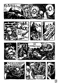 Monster and Girl - Comic - page 2 by alberic