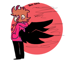 (Ms Paint) Tord by PikachuDrinkingTea