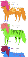 FRUITY SCENE ADOPTS by freaking-adopts