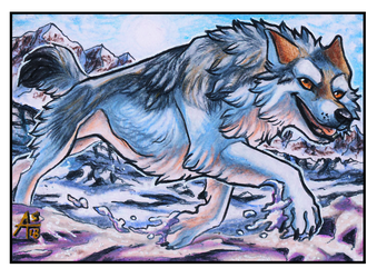 ACEO - There Snow Way [COMMISSION] by ARVEN92